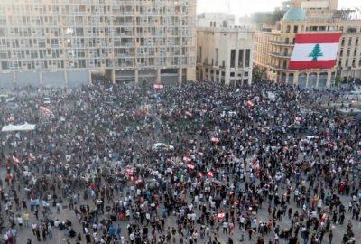 Poporul vrea caderea regimului: mii de persoane manifesta impotriva regimului dupa exploziile de la Beirut