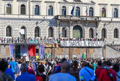 Roma: manifestari ani-masca si anti-vaccin