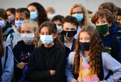Coronavirus: 28 de institutii scolare si 262 de clase inchise in Franta luni din cauza epidemiei