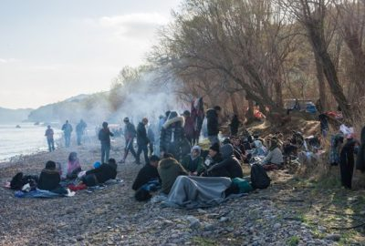 Coronavirus: un prim deces intr-o tabara de refugiati din Grecia