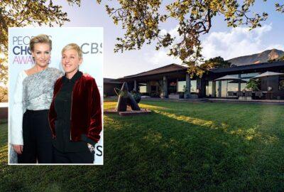 Ellen DeGeneres si-a pus la vanzare casa din Montecito