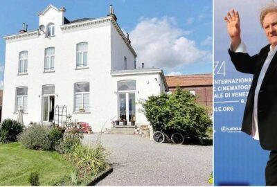 Gerard Depardieu si-a vandut in cele din urma casa din Nechin insa nu a facut o afacere foarte buna